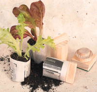 paper seedling pot maker